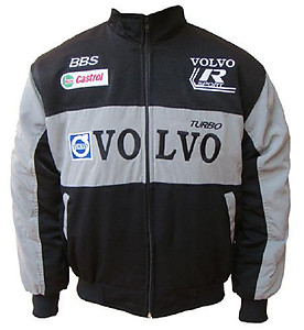 Volvo Sport BBS Racing Jacket Black and Gray