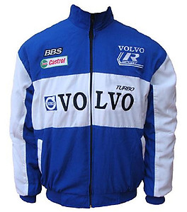 Volvo Sport BBS Racing Jacket Blue and White