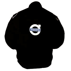 Volvo Racing Jacket Black with Blue Embroidery