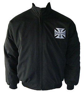 West Coast Choppers Jacket Black