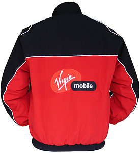 Yamaha R1 Motorcycle Jacket Red and Black