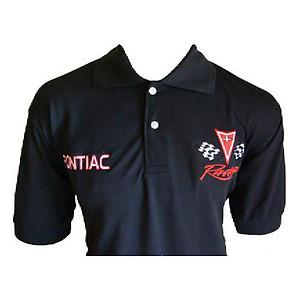 Pontiac Polo Shirt Black