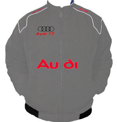 Audi TT Racing Jacket Dark Gray