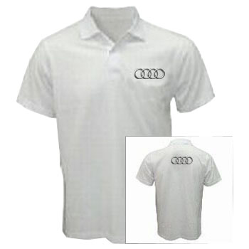 Audi Polo Shirt White