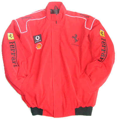 Ferrari Racing Jacket Red