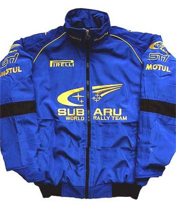 Subaru Racing Jacket Blue