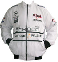 Mercedes Benz Kimi McLaren Schuco Racing Jacket