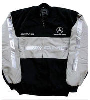 Mercedes Benz AMG Racing Jacket, Light Gray
