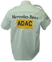 Mercedes Benz ADAC Racing Shirt White