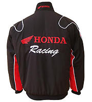 Honda Racing Jacket Black with Red
