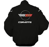 Corvette C4 Racing Jacket Black