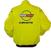 Corvette C4 Racing Jacket Yellow