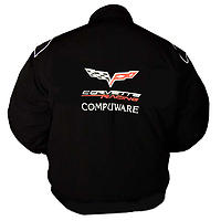 Corvette C6 Compuware Racing Jacket Black
