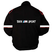 BMW M Sport Racing Jacket Black and White