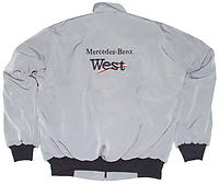 Mercedes Benz Warsteiner Racing Jacket, Gray