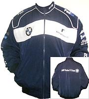 BMW Sauber Team F1 Racing Jacket Dark Blue and White