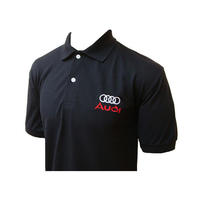 Audi Racing Polo Shirt Black