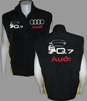 Audi Q7 Vest Black and Yellow