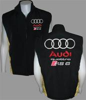 Audi Quattro RS 6 Vest Black and Yellow