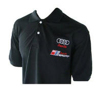 Audi Black Polo Shirt