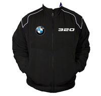 Race Car Jackets. BMW 320 Racing Jacket Black