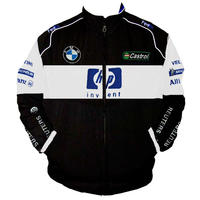 BMW Williams Team F1 Racing Jacket Black and White