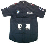 BMW RBS HP F1 Crew Shirt Black