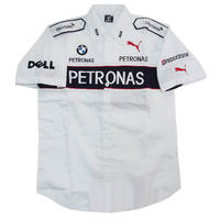 BMW Petronas Crew Shirt White