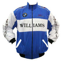 BMW Williams Team F1 Racing Jacket Blue and White