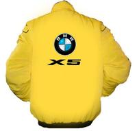 BMW X5 Racing Jacket Yellow