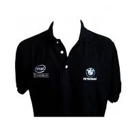 Bmw Pet Polo Shirt Black