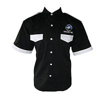 Buick Crew Shirt Black with White