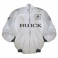Buick Racing Jacket White