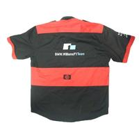 BMW Wiliiams F1 Crew Shirt Black and Red