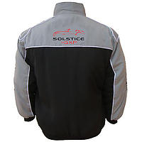 Pontiac Solstice GXP Racing Jacket Light Gray and Black