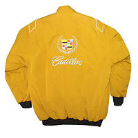 Cadillac Racing Jacket Yellow