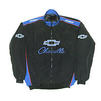 Chevelle Racing Jacket Black & Blue