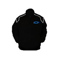Chevy Chevrolet Racing Jacket Black