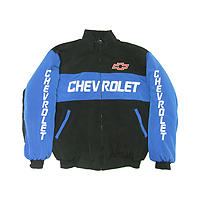 Chevrolet  Jacket Black & Light Blue