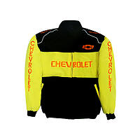 Chevy Chevrolet  Jacket Black & Yellow