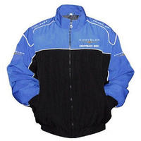 Chrysler 300 Racing Jacket Black and Royal Blue