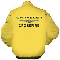 Chrysler Crossfire Racing Jacket Yellow
