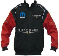 Chrysler Mopar Racing Jacket Black and Red