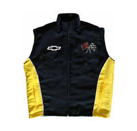 Corvette C2 Vest Black and Yellow
