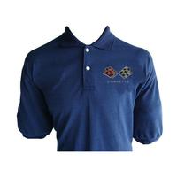 Corvette C3 Polo Shirt Dark Blue