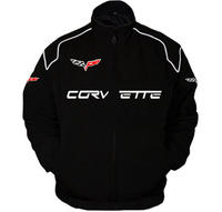 Corvette C6 Racing Jacket Black