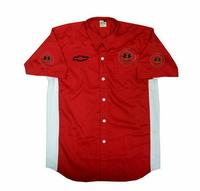 Corvette C1 Crew Shirt Red and White