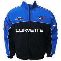 West Coast Corvette >> Race Car Jackets. Corvette C5 Racing Jacket Royal Blue and ...
