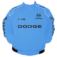 Dodge Mobil1 Racing Jacket Light Blue