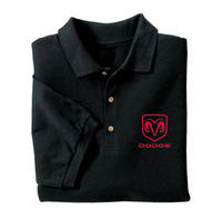 Dodge Polo Shirt Black
